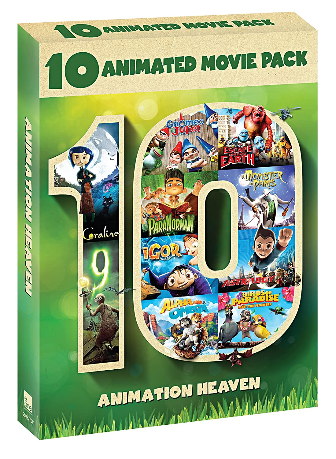 Amazon Com Coraline Gnomeo Juliet Paranorman Igor Alpha And Omega 9 Escape From Planet Earth A Monster In Paris Astro Boy Birds Of Paradise Movies Tv