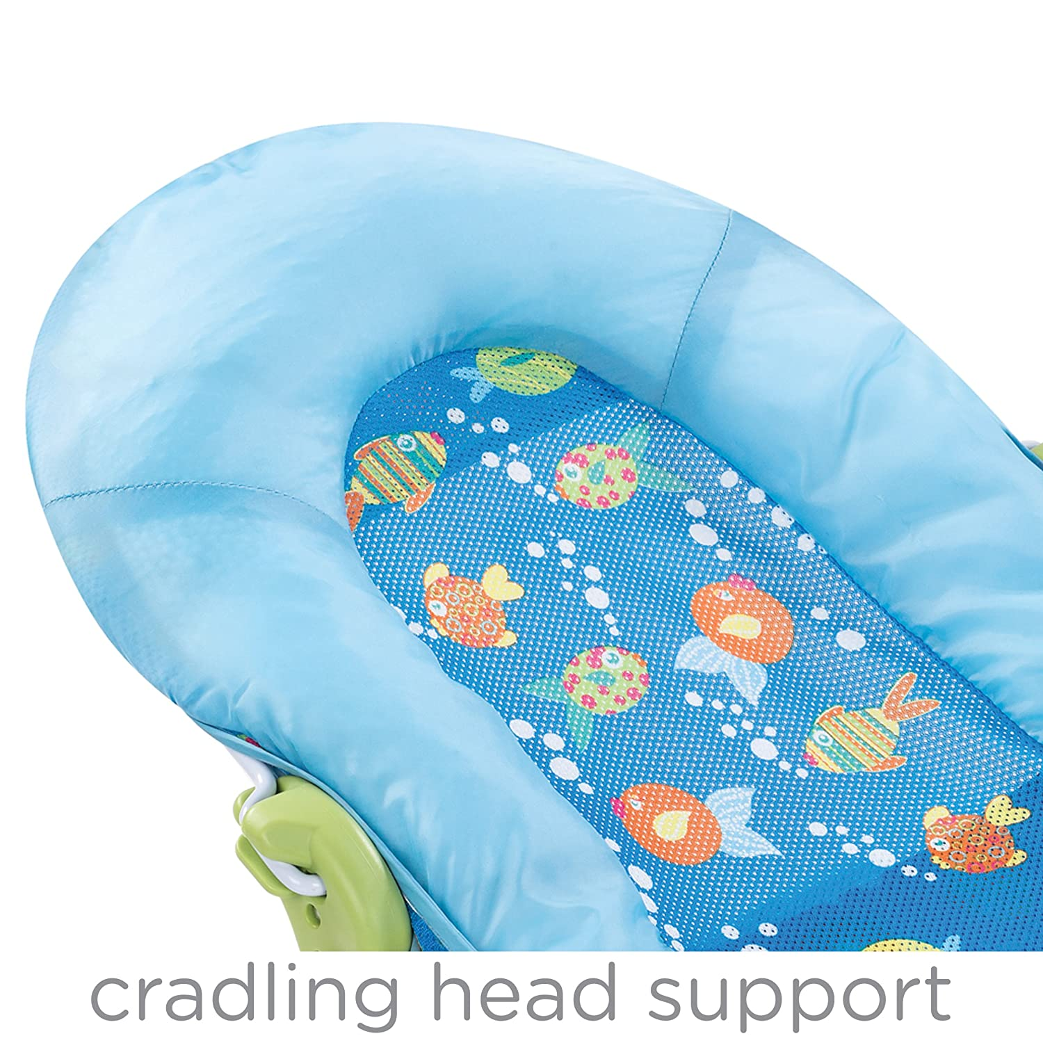 Amazon.com : Summer Infant Large Comfort Baby Bather, Bubble Fish ...