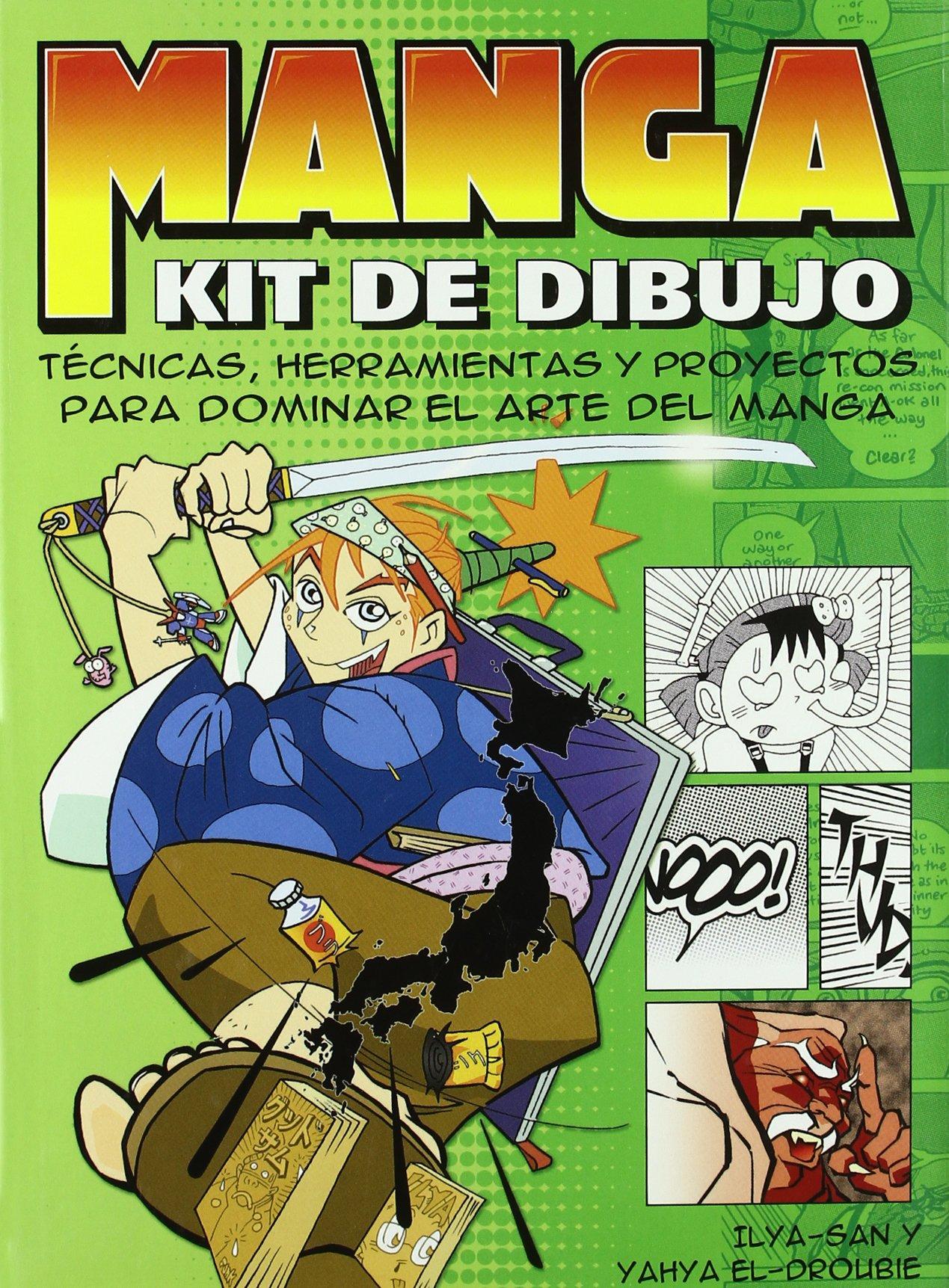 Kit completo de dibujo manga Artes, técnicas y métodos ...