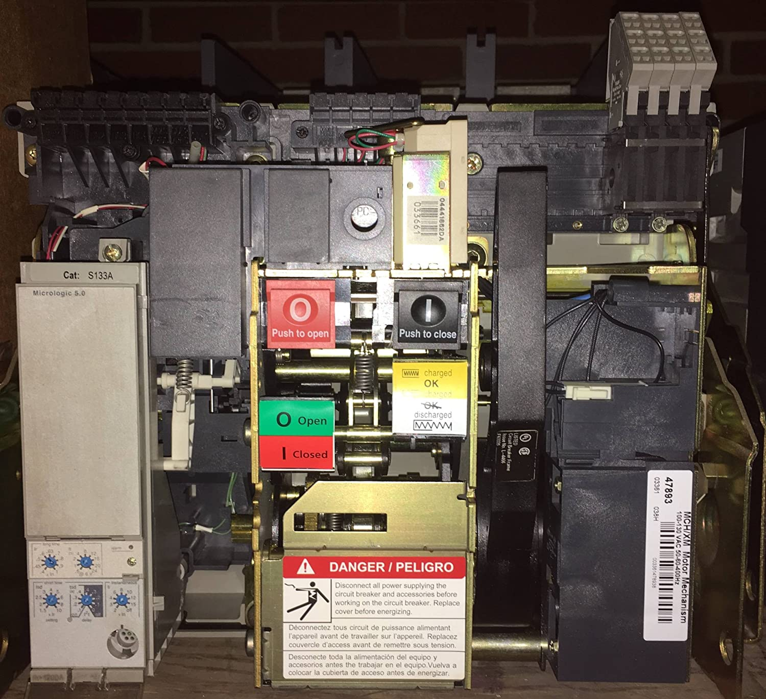 Square D NW12N 1200A EO Masterpact Circuit Breaker w/Shunt NW 12 N 1200 Amp LSI: Amazon.com: Industrial & Scientific