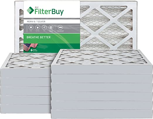 Nordic Pure 22x36x1 MERV 11 Pleated AC Furnace Air Filters 2 Pack