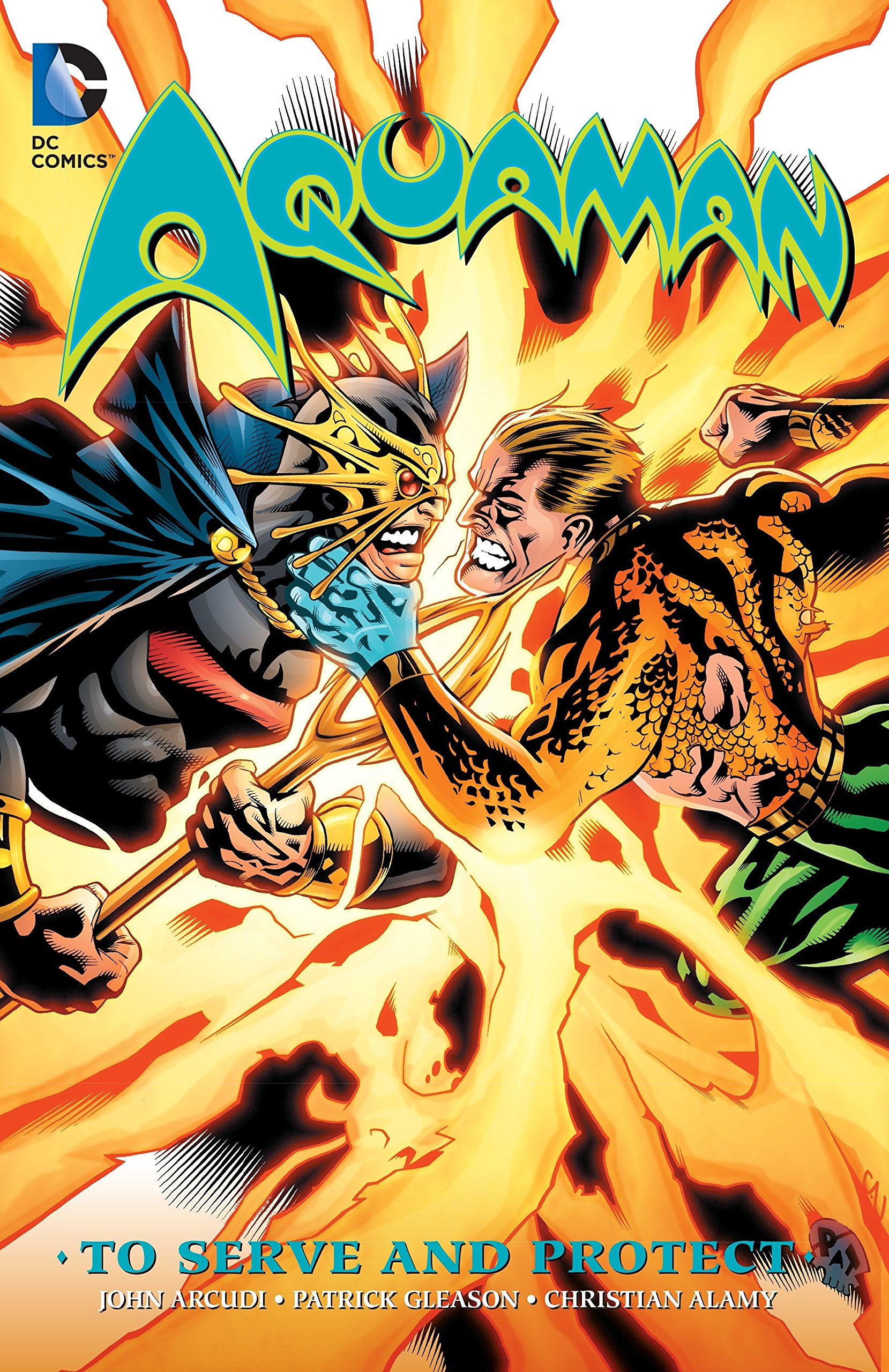 Download Aquaman: To Serve and Protect pdf