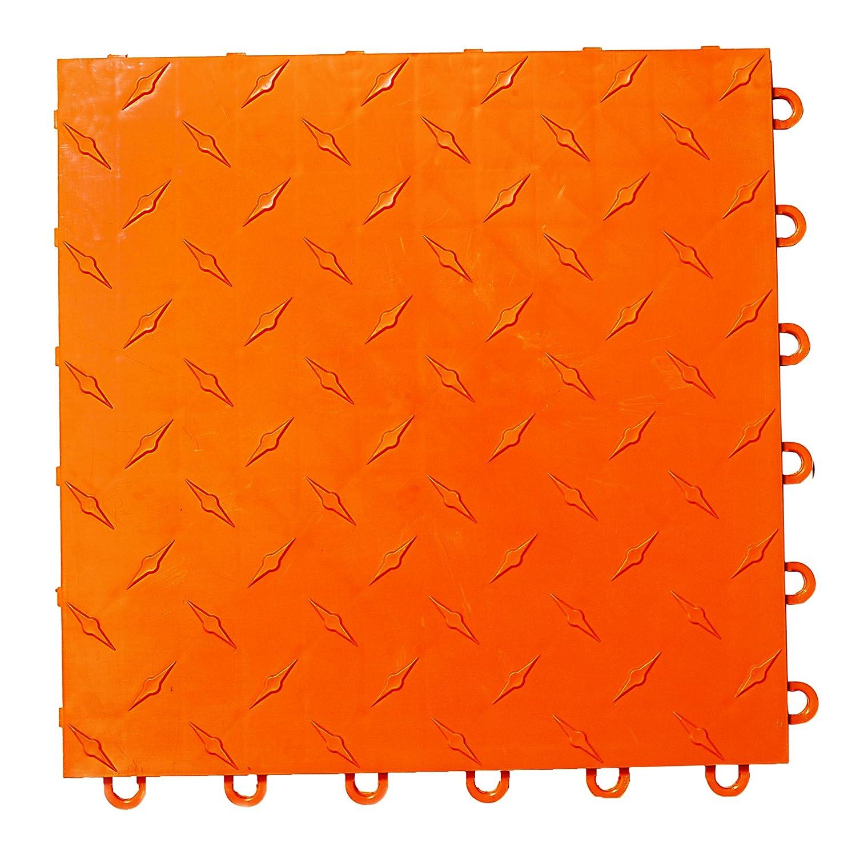 Speedway Garage Tile 789453O-50 Diamond Garage Floor 6 LOCK Diamond Tile 50 Pack,Red