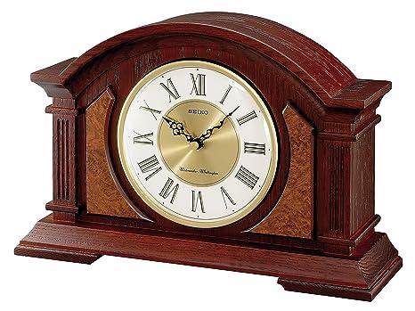 Seiko mantel clocks amazon