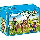Playmobil 6949 - Veterinario dei Pony, Multicolore