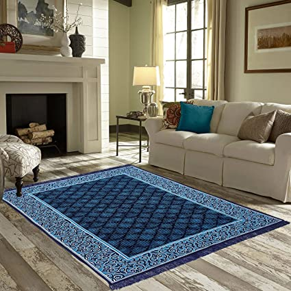 Braids Premium Home Jacquard Weaved Multi chennile Bedroom/Living Room Rugs and Carpets -01