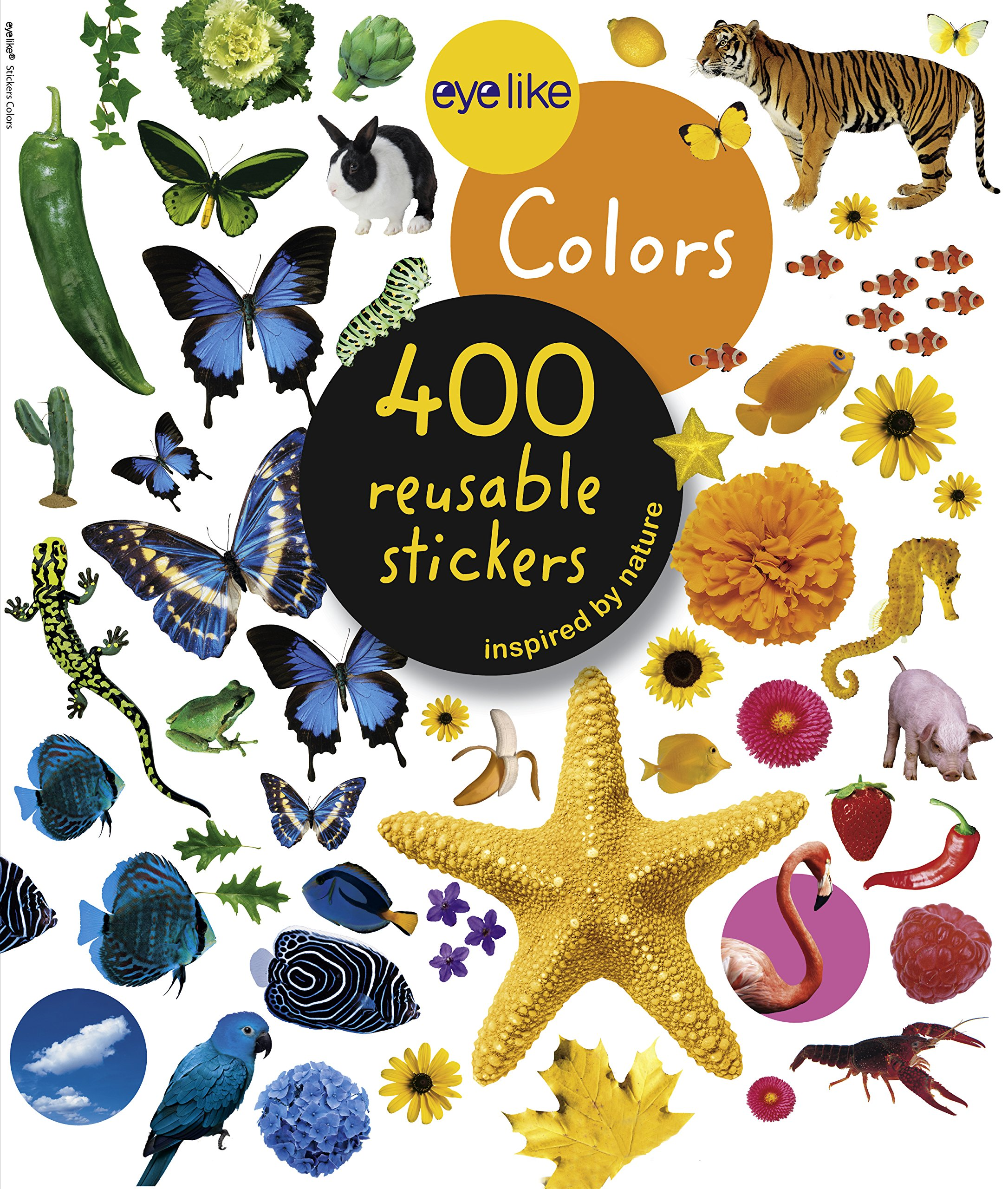 Eyelike Stickers  Colors