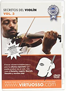 Virtuosso Violin Method Vol.3 (Curso De Violín Vol.3) SPANISH ONLY