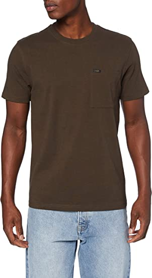 TALLA XXL. Lee SS Pocket tee Camiseta para Hombre