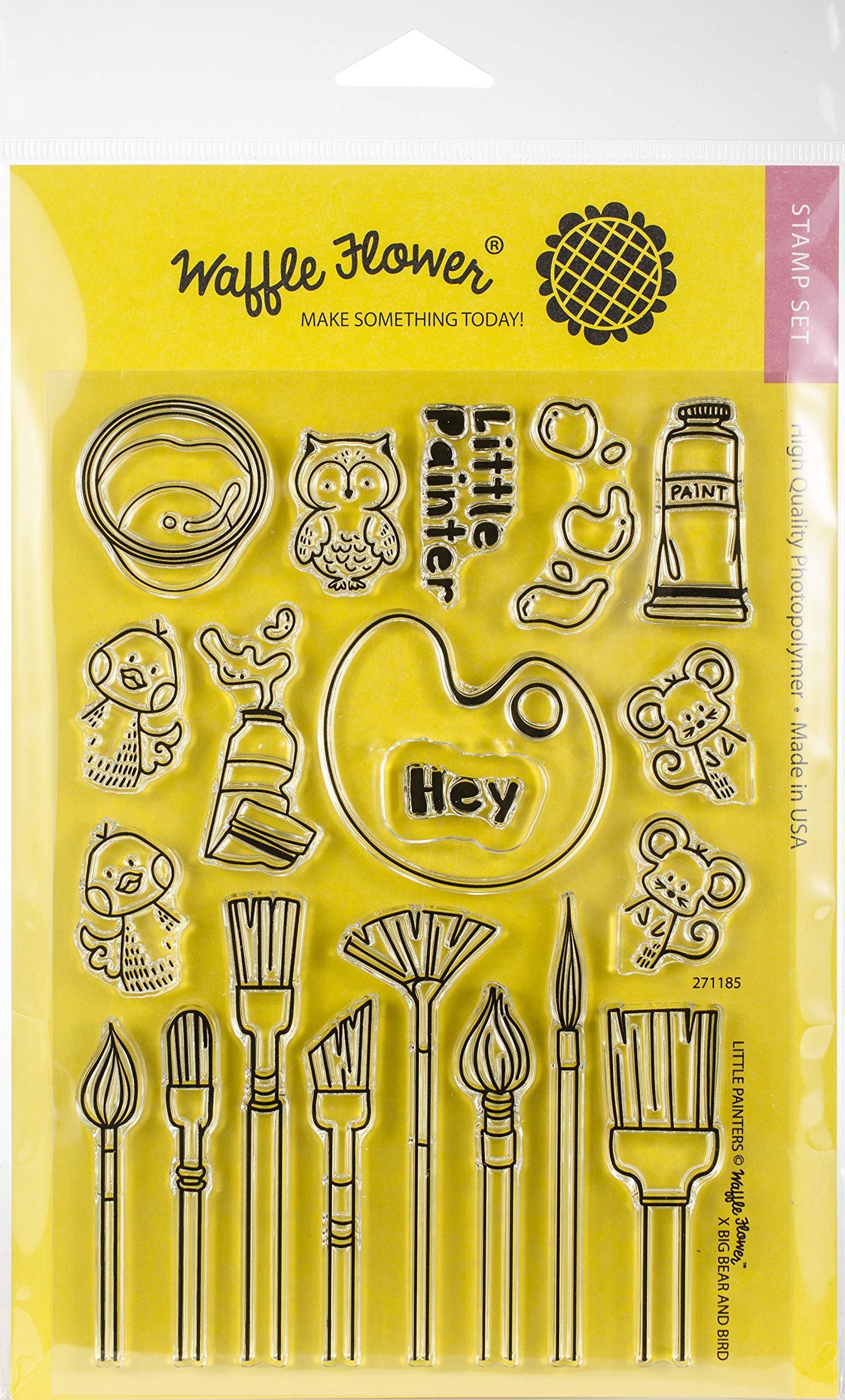 Waffle Flower Crafts 271185 Craft Supplies, Multicolor