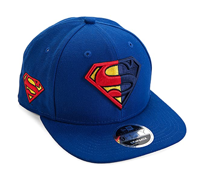DC Comics Superman Symbol Split Side Snapback Gorra De Béisbol ...