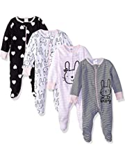 Gerber Baby Girls - Pack de 4 Unidades para Dormir