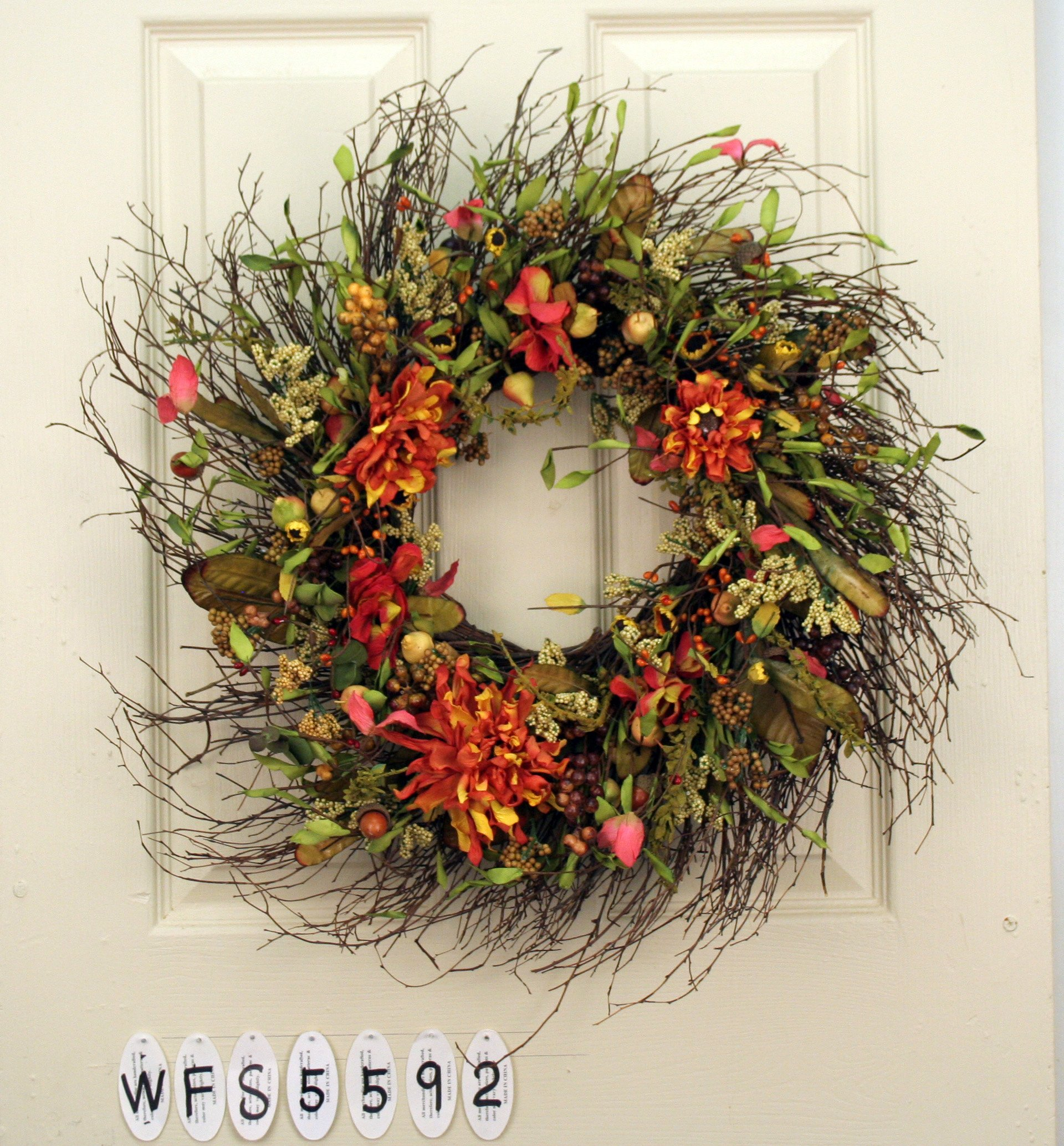 Mixed Flower Everyday Wreath by Season Flower