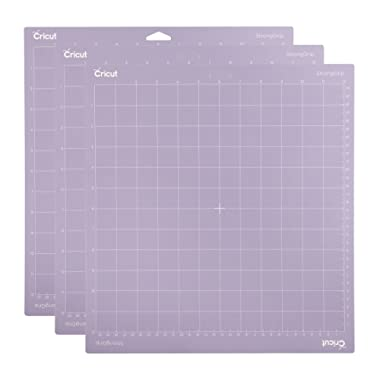 Cricut STRONGGRIP Cutting MAT 3 Pack, 12 x12 , Purple, 3 Piece