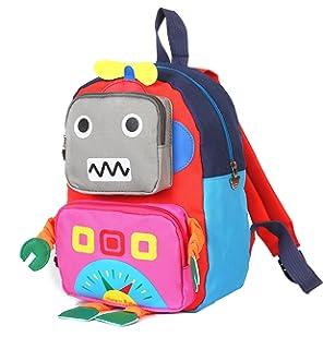 cf34a48aee7e TeMan Children Backpack Kindergarten Cartoon Schoolbag for Kids ...