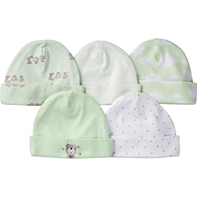 71442042852 Amazon.com  Gerber Baby Boys  5 Pack Caps  Clothing