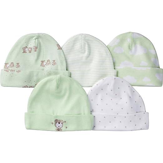 3976c1da439 Amazon.com  Gerber Baby Boys  5 Pack Caps  Clothing