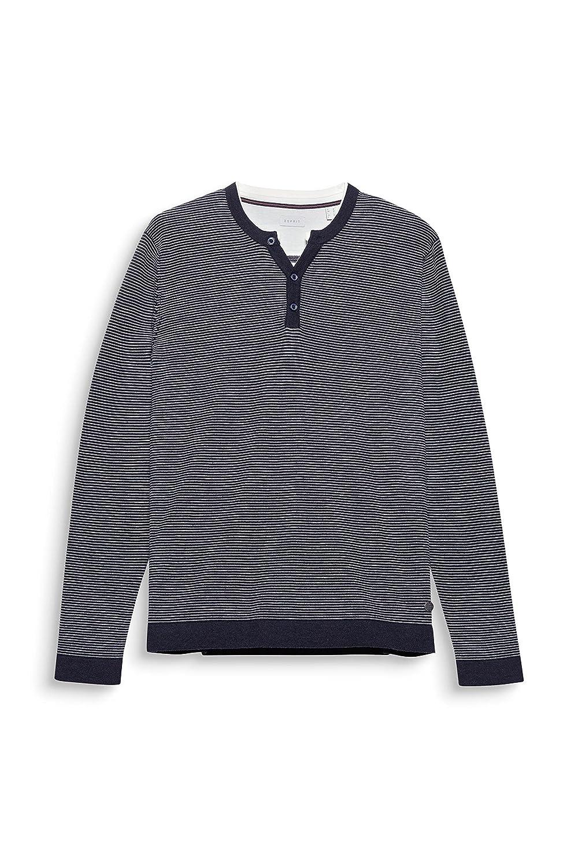 078ee2i001, Suéter para Hombre, Azul (Navy 400), X-Large Esprit