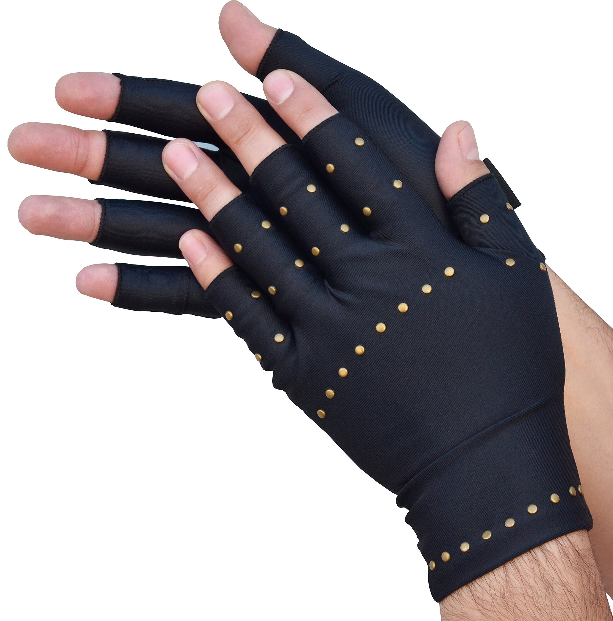 Medipaq Anti Arthritis Gloves With Copper Therapy Compression 1X Pair - Large