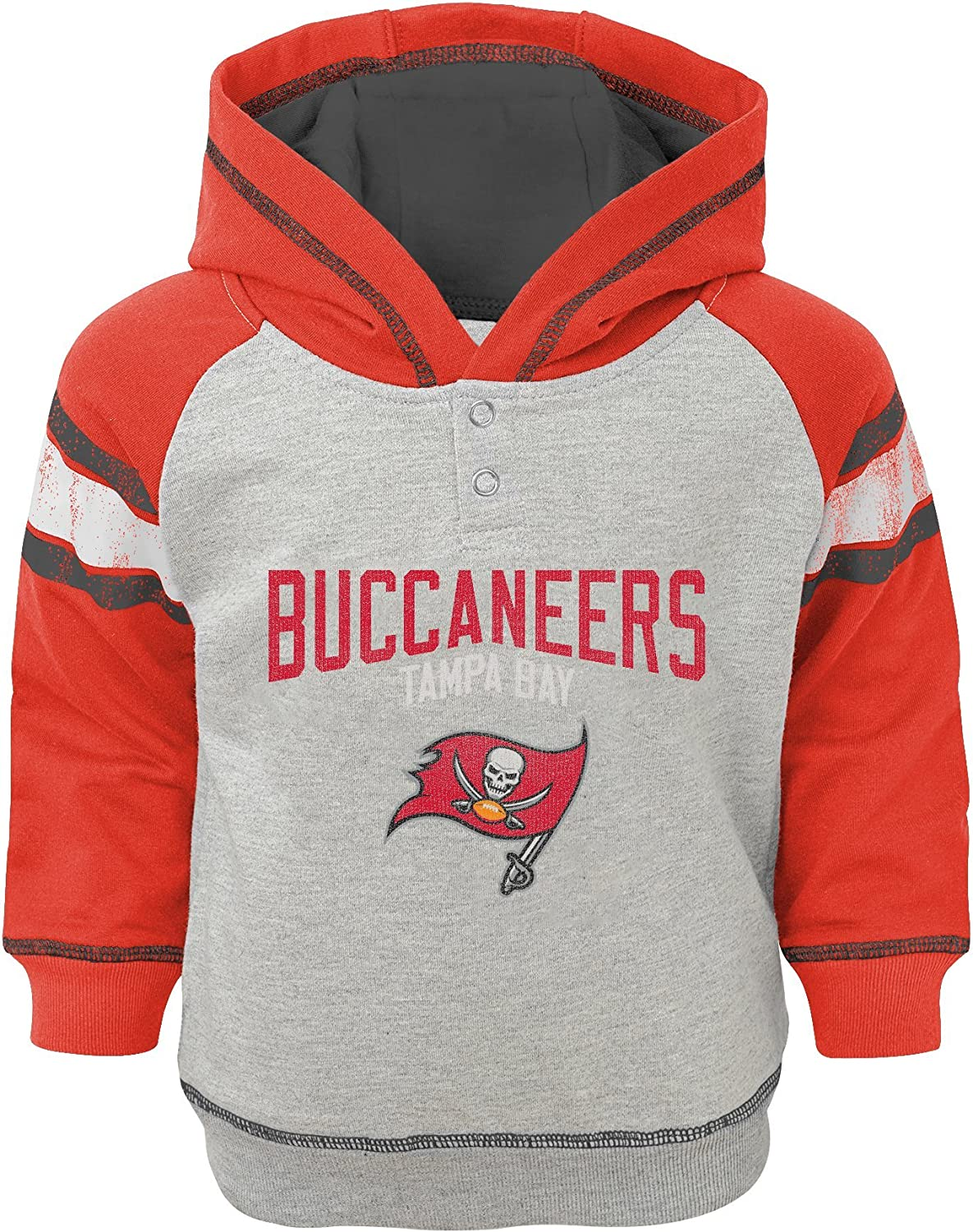 Outerstuff NFL Boys Infant Classic Stripe French Terry Pullover Hoodie : Clothing