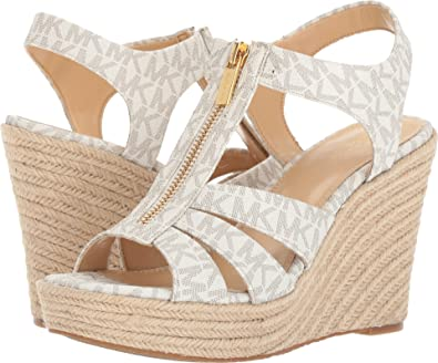 91b531082fb5 Michael Michael Kors Women s Berkley Wedge Vanilla Wedge