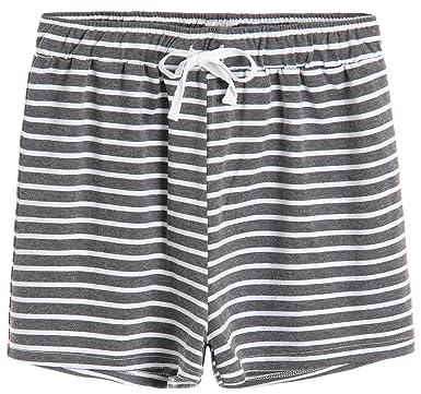 9a807ce404 Latuza Women s Cotton Striped Pajama Shorts at Amazon Women s ...