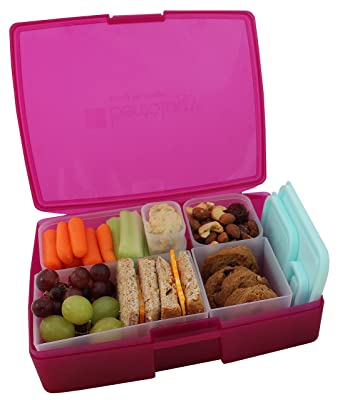 Bentology Leak-proof Bento Lunch Box with 5 Removable Containers