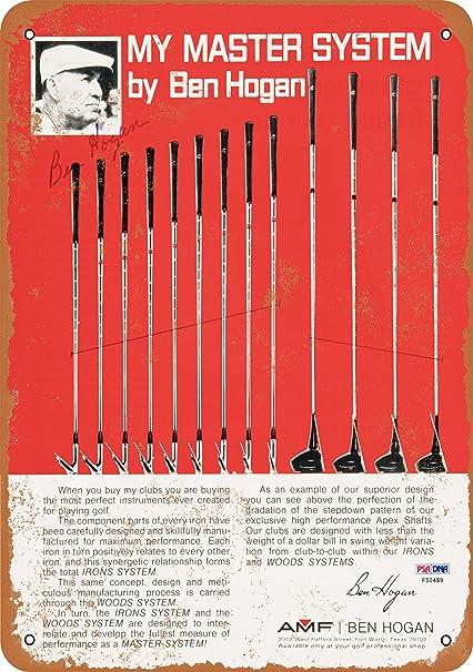 AMF Ben Hogan Master System de palos de Golf samfme de Metal ...