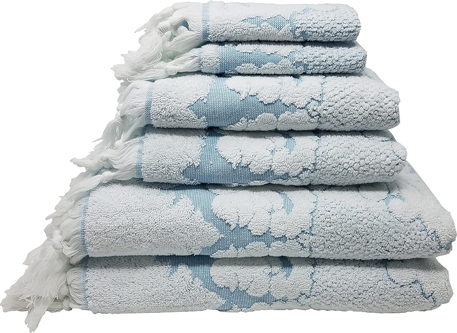 LUNASIDUS - Luxury Decorative Bath Towels
