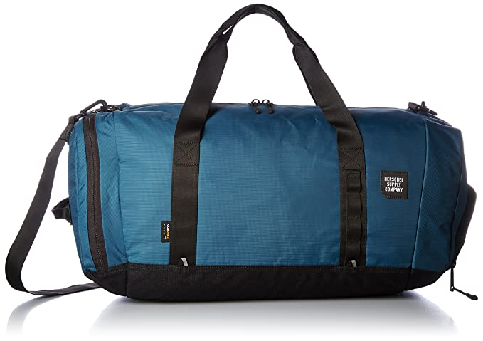 b0ea2574b1cb New Herschel Men s Gorge Duffle Bag Plastic Nylon Blue  Amazon.ca ...