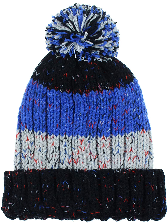 b591e25ace4 Amazon.com  Capelli New York Boys Knit Cuff Hat and Magic Glove Set   Clothing