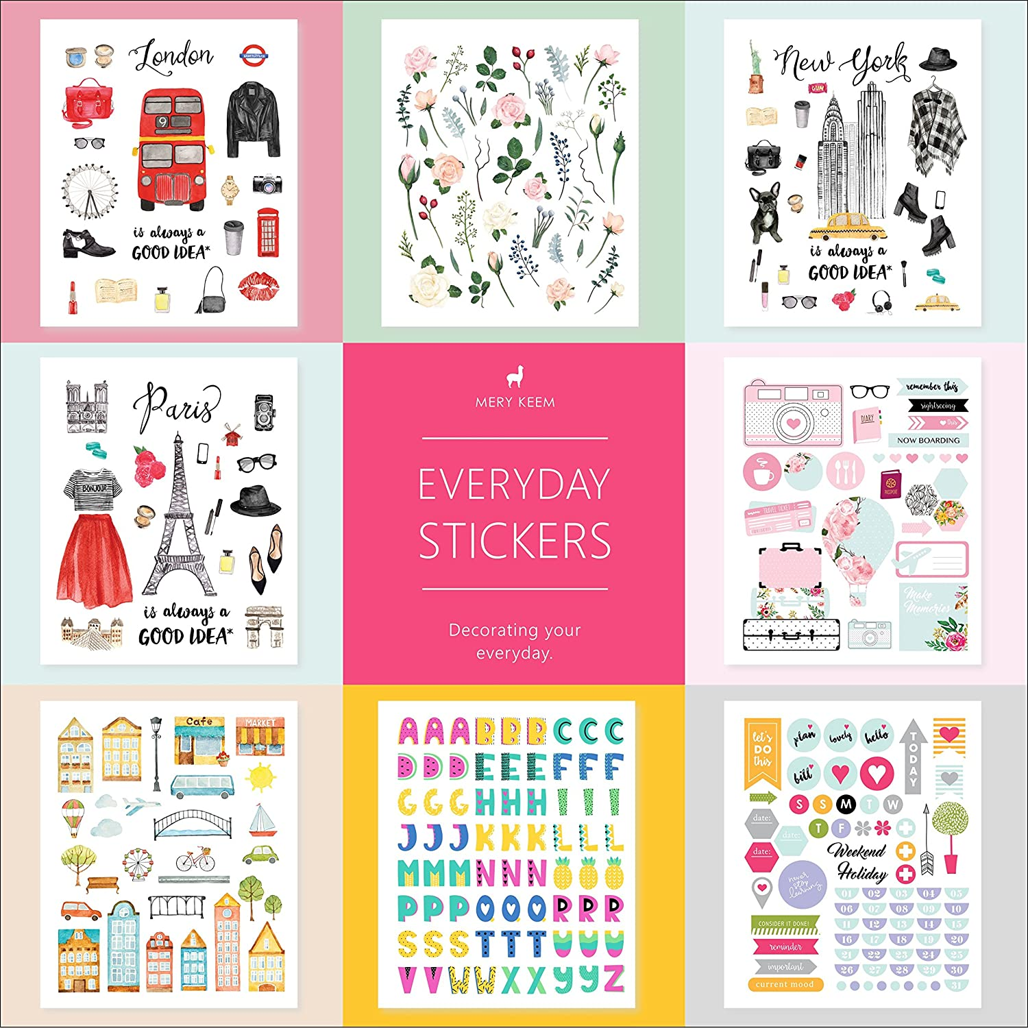 Amazon.com: PLANNER STICKERS Back To School • Functional ...