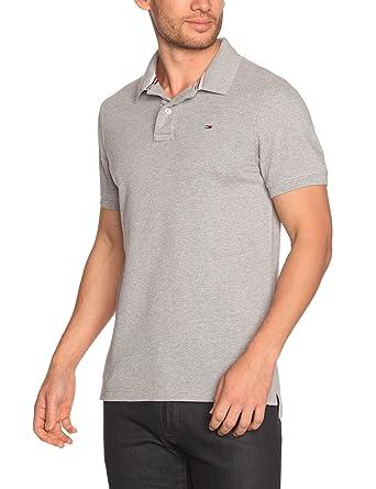 Tommy Jeans Hilfiger Denim Herren Poloshirt Pilot polo flag s/s KIR, Gr.