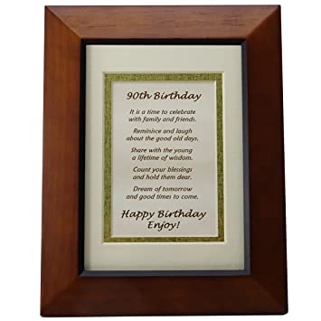 Birthday Age Cards 91 100 Card Verses In Free To Use From Craftsuprint Happy 90th