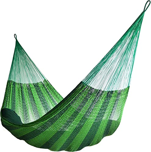 HAMMOCKS RADA TM – Jumbo Size 2 Greens – Largest Hammock by UPS in 2 Days at Door