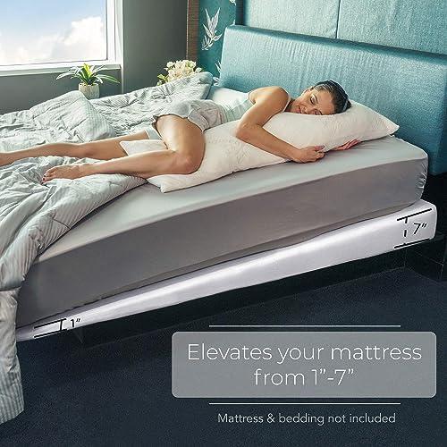 California King Bed Mattress w/7-Inch Incline Foam Support [Avana] Picture