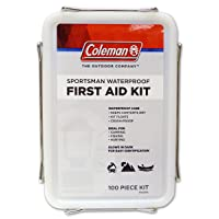 Coleman Sportsman Waterproof First Aid Kit 100-Piece for boating