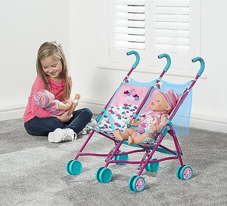 Amazon.es: Baby Born 1423493 doble cochecito de muñeca Accesorios: Juguetes y juegos