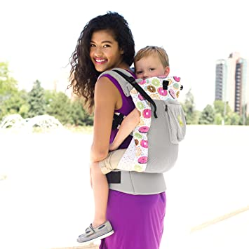 621c5ca0526 LILLEbaby 3 in 1 CarryOn Toddler Carrier - Air - Mist w Donut ...
