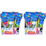 Trolls Pez Dispensers Party Favors (Pack of 24)
