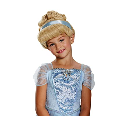Cinderella Deluxe Child Wig, One Size: Toys & Games