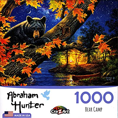 Bear Camp 1000 Piece Puzzle: Toys & Games