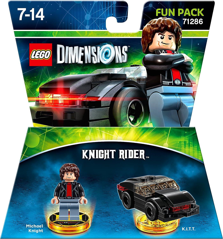 LEGO Dimensions Fun Pack: Knight Rider, Pack de diversión Knight ...