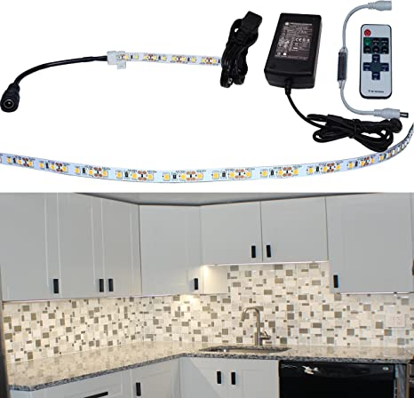 Under Cabinet Lighting LED KIT | Strip Tape With Heatsink | Very High Color  Accuracy (