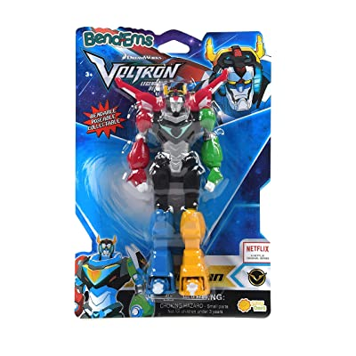 Sunny Days Entertainment BendEms Collectible Posable Action Figure - Voltron Legendary Defender: Toys & Games