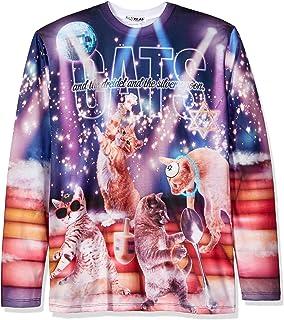 85823767ec1d Amazon.com  Faux Real Men s Sublimated Ugly Christmas Sweater Long ...