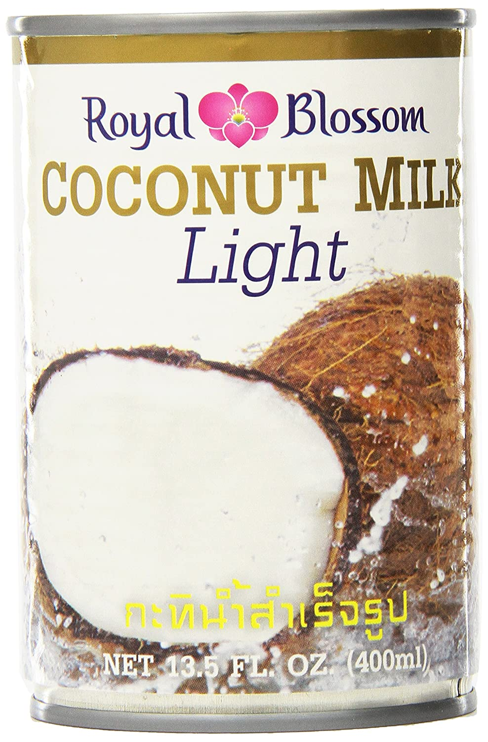 Royal Blossom Coconut Milk Light 135 Ounce Pack Of 12 Amazon
