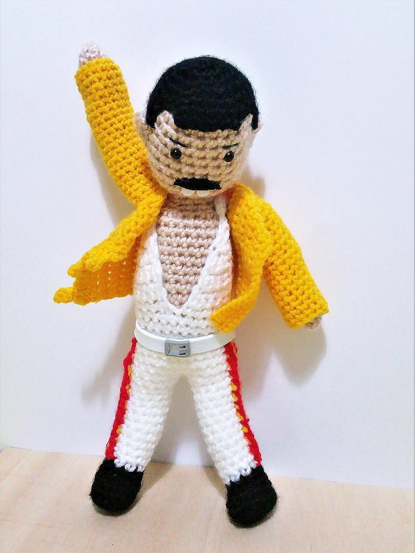 Freddie Mercury doll