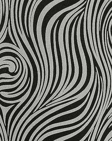 Fashion Zebra Style Wallpaper Wall EDEM 1016-16 Texture ...