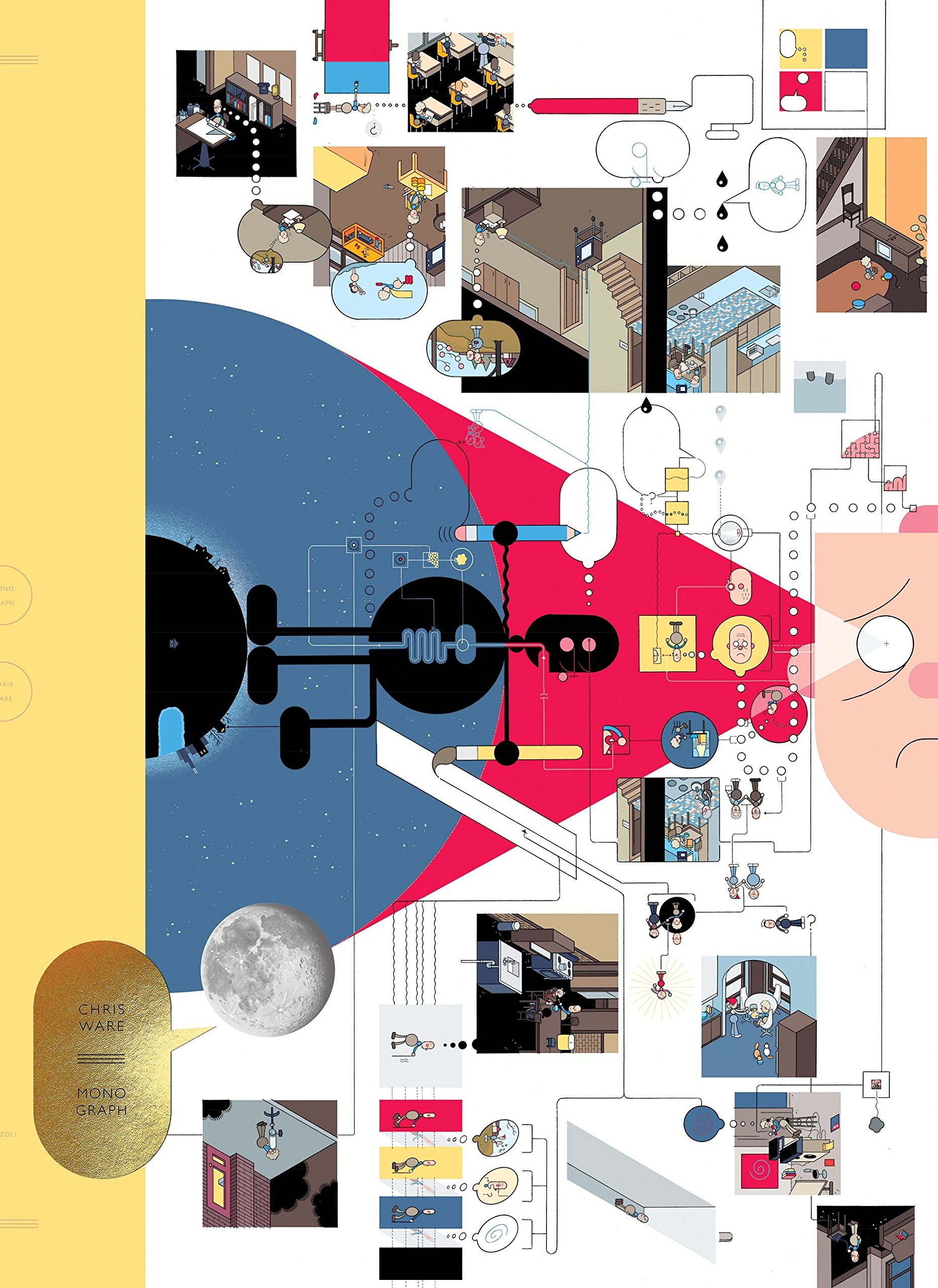 Monograph by Chris Ware: Chris Ware, Ira Glass, Francoise Mouly, Art ...